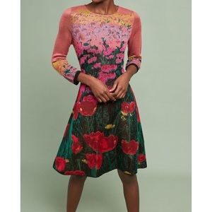 Aldomartin Floral Sweater Dress